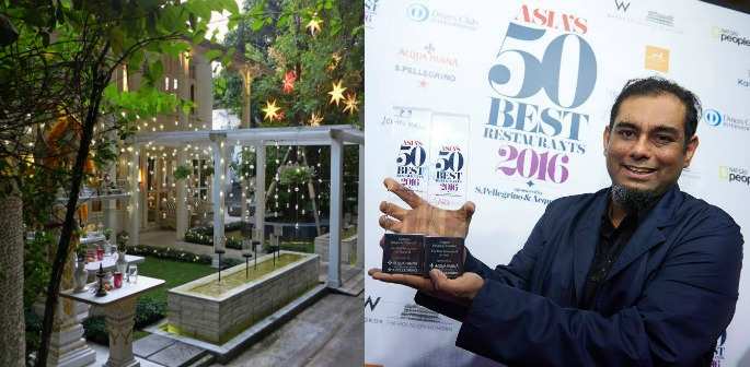 Indian chef wins Asia's 50 Best Restaurants 2016
