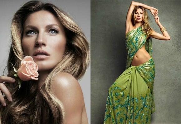 Gisele collage - western beauties