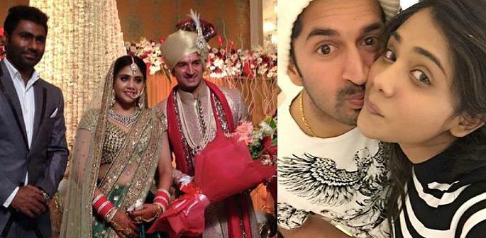 Indian cricketer Mohit Sharma marries Shweta