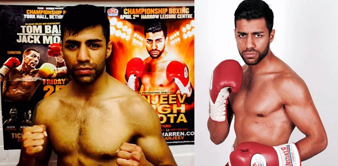 Sanjeev Singh Sahota makes Professional Boxing Debut