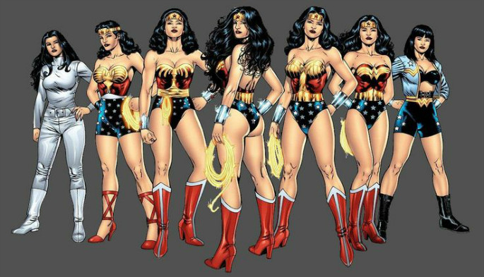 The Evolution of Wonder Woman Throughout the Years 4