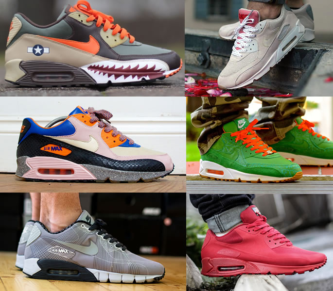 Evolution of Air Max styles for Men and
