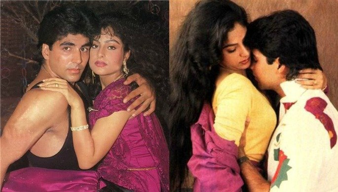 Akshay's off screen romances
