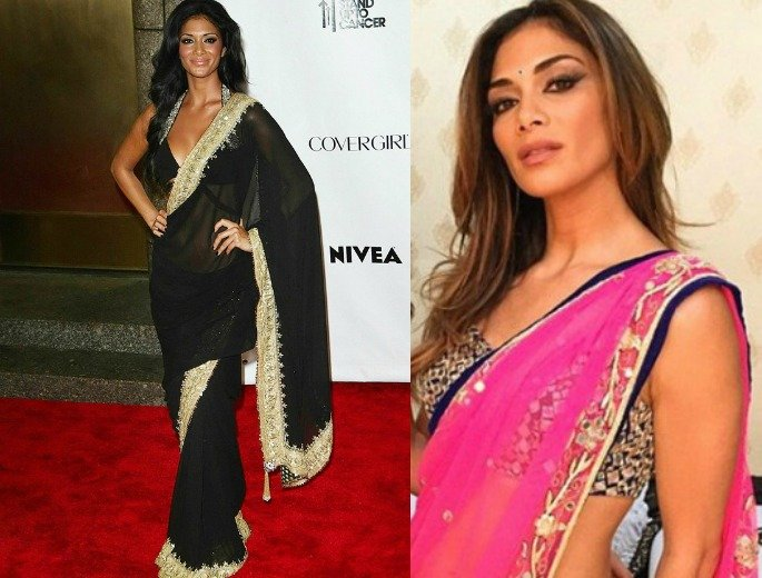 Western Beauties looking Amazing in Sarees
