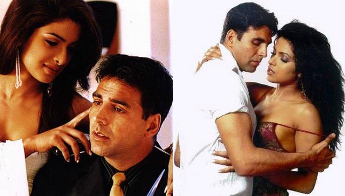 Akshay's off screen romances