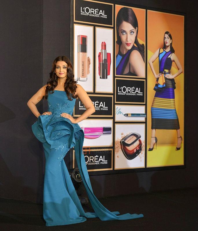 Aishwarya Rai looks Infalliable at L'Oreal launch