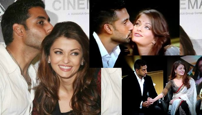 Bollywood Couples Public Kiss
