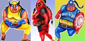 Kully Rehal creates Indian Aunties Superheroes series