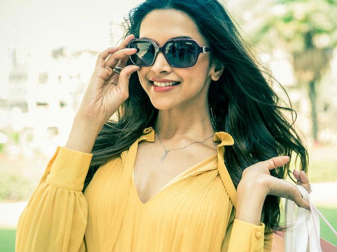Deepika Padukone looks smoking for Vogue Eyewear