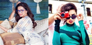 Deepika and Adriana Lima model for Vogue Eyewear