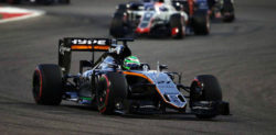 Force India suffer Early Collisions at Bahrain GP