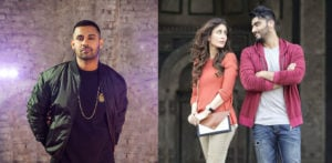 Jaz Dhami in High Heels with Arjun Kapoor