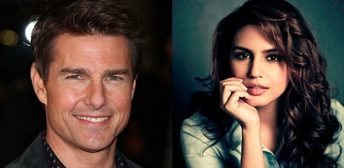 Huma Qureshi in The Mummy with Tom Cruise?