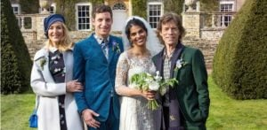 Jaggers celebrate Anoushka Sharma and James Jagger Wedding