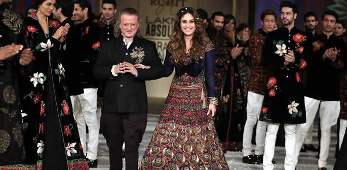Rohit Bal's Lakmé S/R 2016 Finale elevated by Kareena
