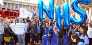 NHS Junior Doctors strike in Birmingham
