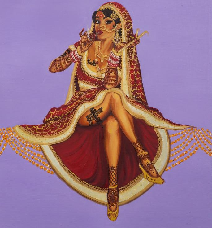 Nimisha Bhanot Talks Feminism and Challenges in Art 5