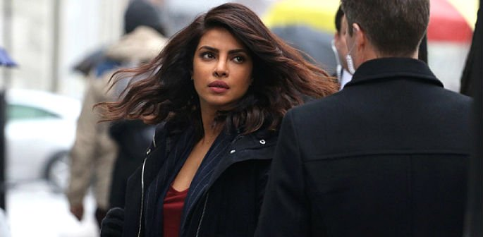 Priyanka Chopra is trapped in Quantico?