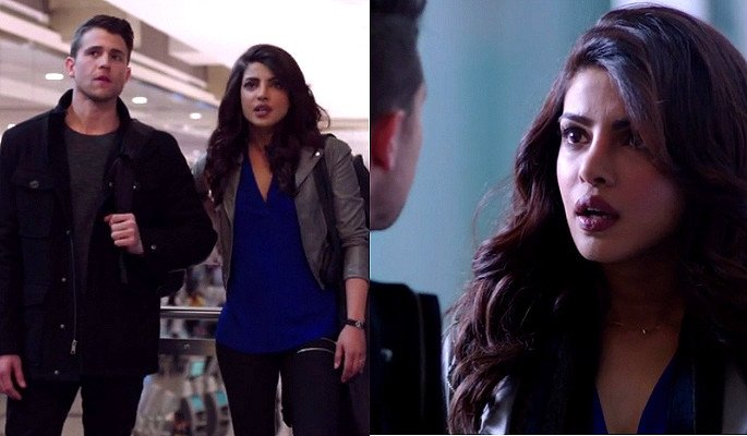 Priyanka Chopra seduces again in Quantico
