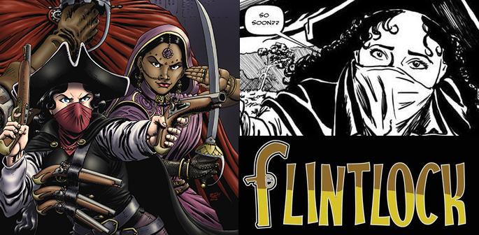 Shanti Pirate Queen in Flintlock by Steve Tanner