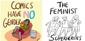 Silvia Carrus talks Gender & Feminism in Comics