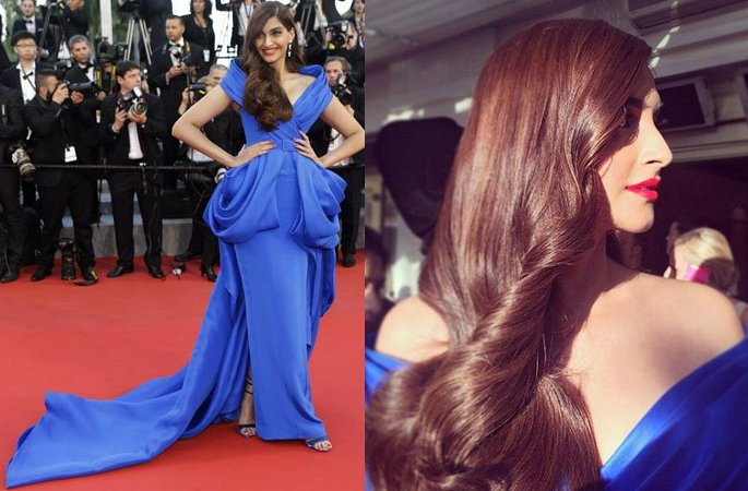 5 Sexy Looks of Sonam Kapoor at Cannes