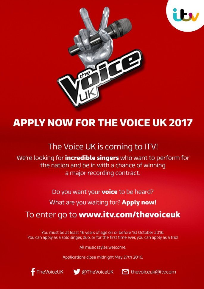 The Voice UK moves to ITV