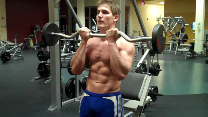 Top 5 Exercises for Biceps additoinal image 3 - Close Grip EZ Bar Curl