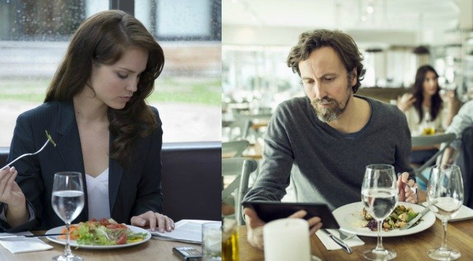 half of meals eaten alone - additional