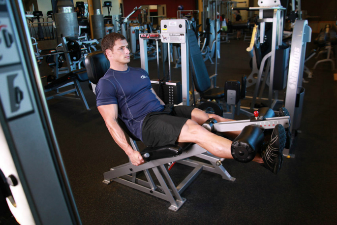 how to have an effective leg workout - leg extension