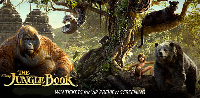 Jungle Book Preview Screening Tickets