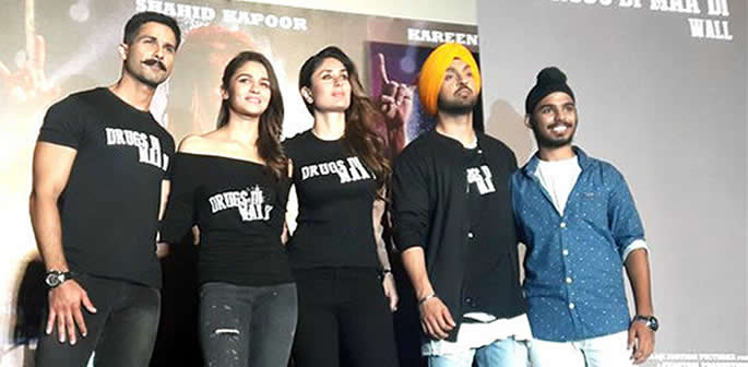 Udta Punjab Stars