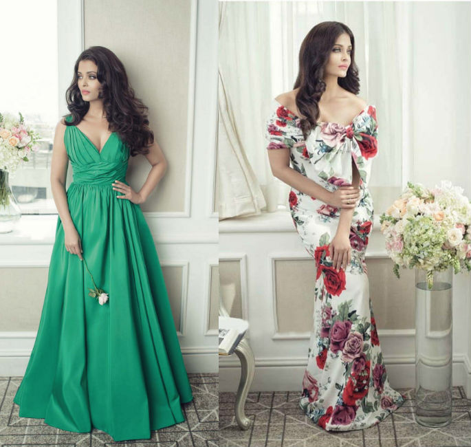 Aishwarya Rai is Flower Queen on Filmfare cover