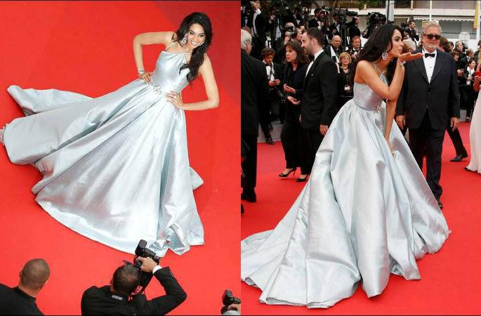 Mallika Sherawat at Cannes 2016