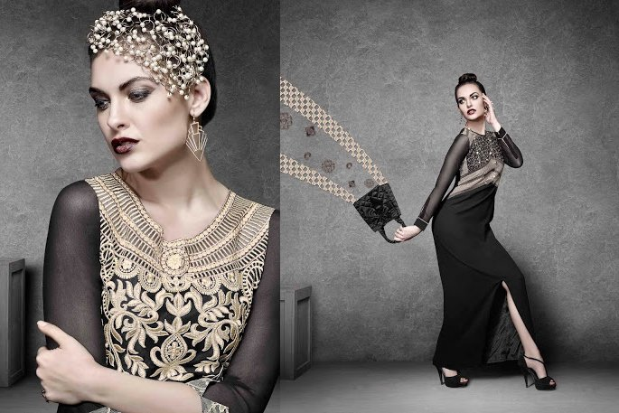 Designer Georgette Kurtis in Eternal Black
