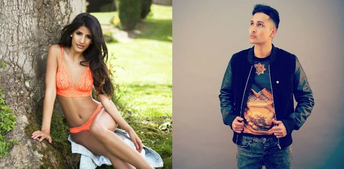 Jasmin Walia & Zack Knight heat up 'Dum Dee Dee Dum'