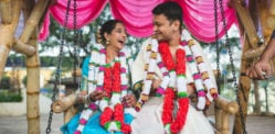 Indian couple creates Beautiful Eco-Friendly Wedding