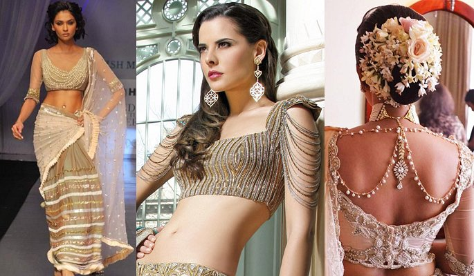 Gorgeous Saree Blouses to Totally Love