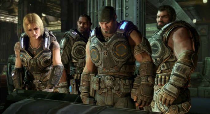 Hypermasculinity in Video Games Gears of War