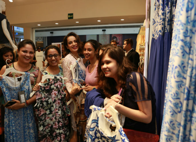 Kangana Ranaut launches new designs for Vero Moda