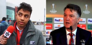 Man Utd fan does amazing Louis van Gaal impression