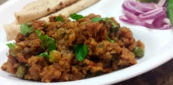 A Quick and Easy Matar Keema recipe