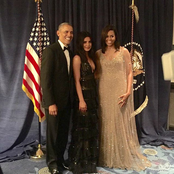 White House Dinner welcomes a Sexy Priyanka Chopra