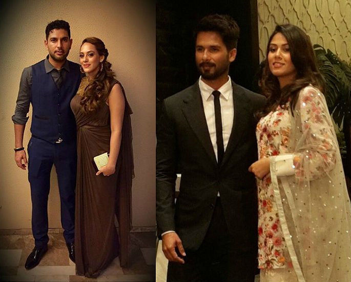 Preity Zinta & Gene host Star-Studded Wedding Party