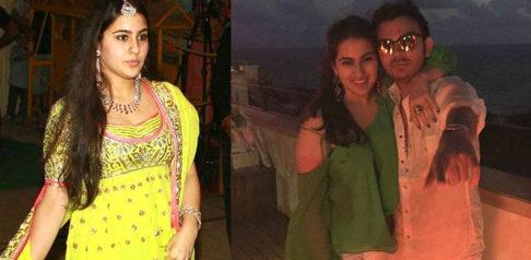Saif Ali Khan's daughter Sara Ali Khan dating Veer Pahariya