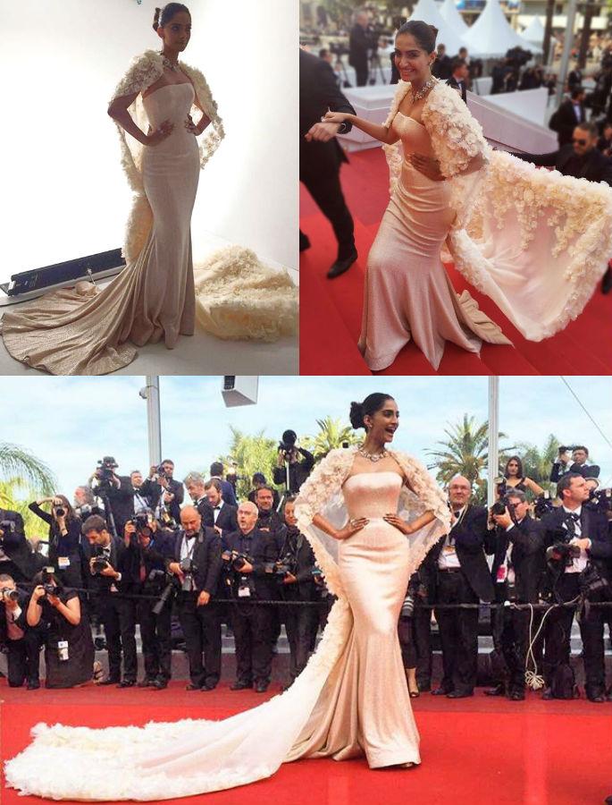 Sonam Kapoor looks Regal at Cannes 2016