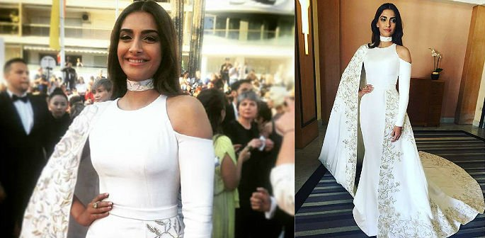 Sonam Kapoor is a Snow Queen at Cannes 2016