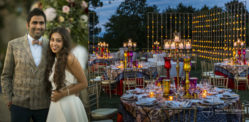 A Romantic Indian Fusion Wedding in Florence