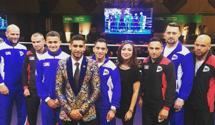 Amir and Haroon Pakistan Boxing Event