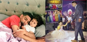 Amir Khan throws £100,000 birthday party for Daughter
